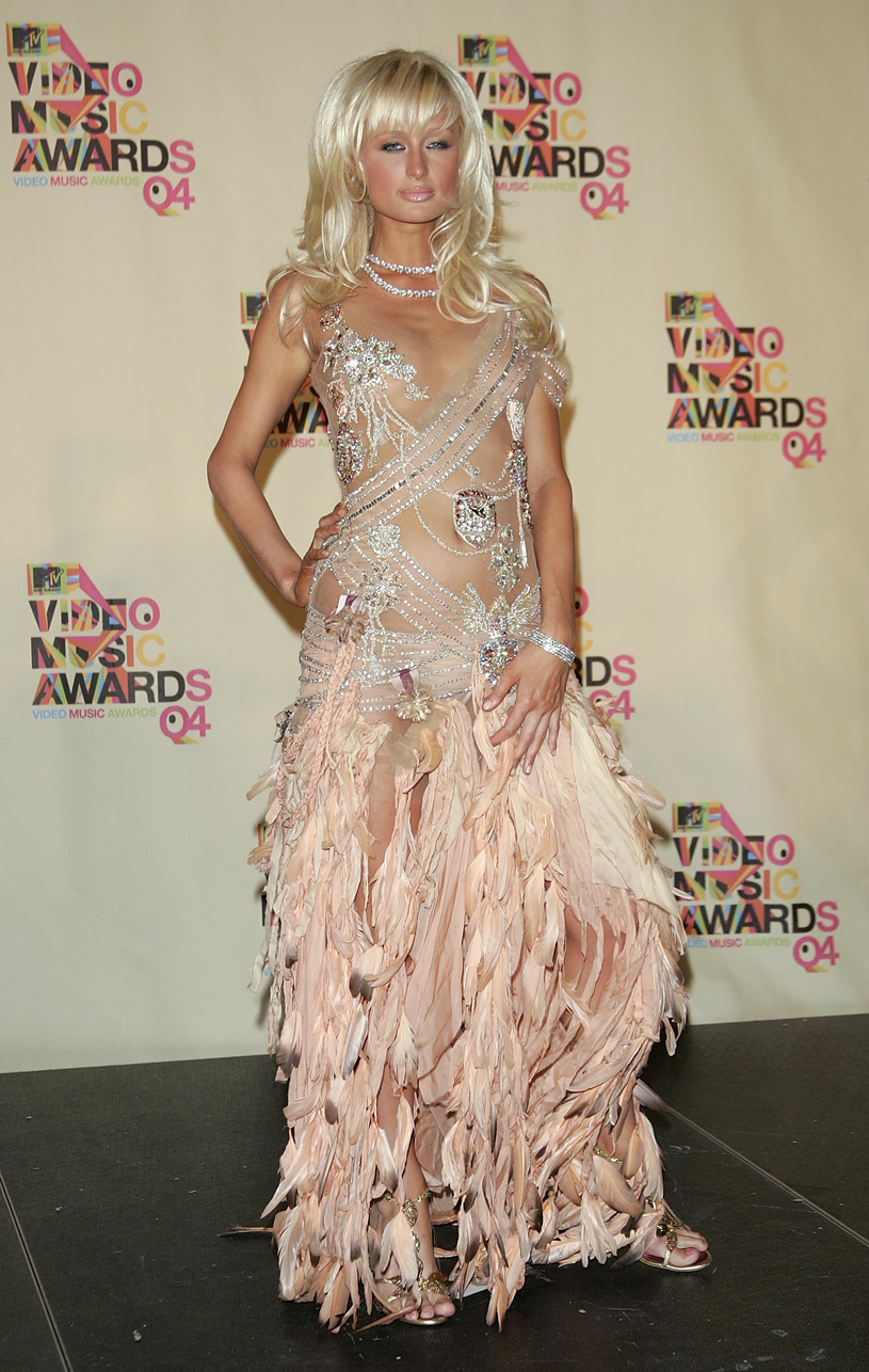 Paris Hilton, zdj. z 2004 roku /Peter Kramer /Getty Images