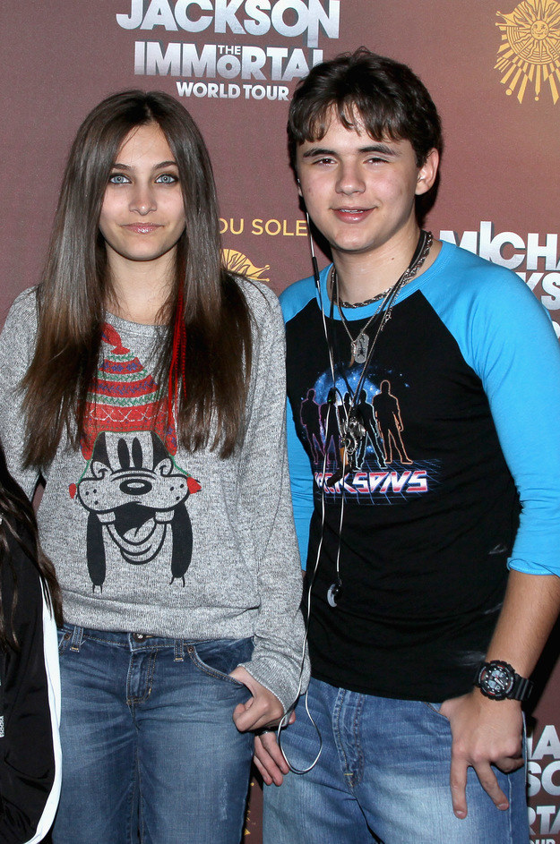Paris Jackson ze swoim starszym bratem /Mark Davis /Getty Images