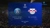 Paris Saint-Germain - RB Lipsk. SKÓRT. WIDEO (Polsat Sport)