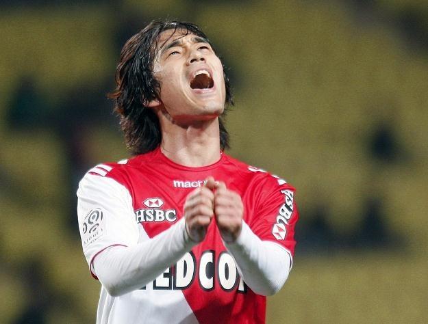 Park Chu-Young cieszy się z gola dla AS Monaco /AFP