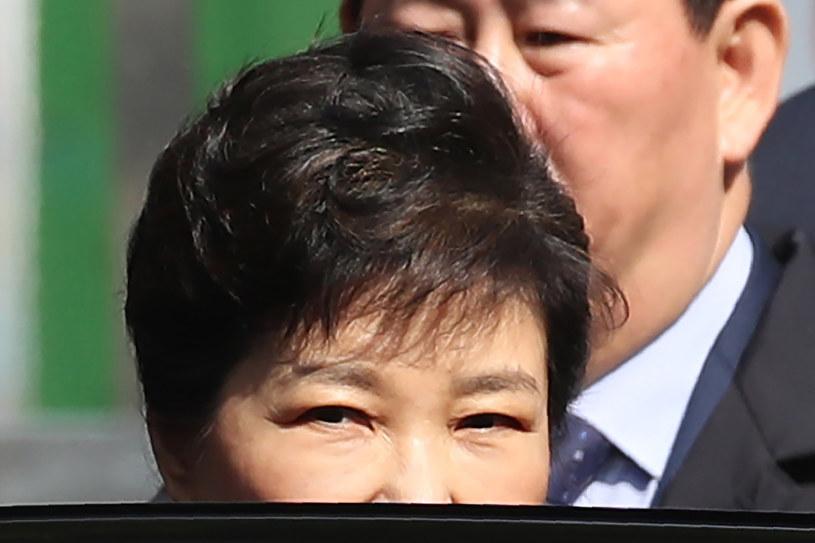 Park Geun Hie jest zamieszana w skandal korupcyjny /STR /AFP