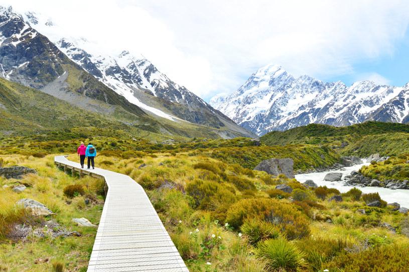 Park Narodowy Góry Cooka, Nowa Zelandia /123RF/PICSEL
