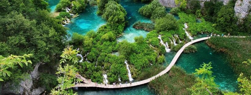 Park Narodowy Jeziora Plitvickie to jedno z najpiękniejszych miejsc w Europie /materiały prasowe