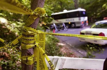 Park to idealne miejsce dla porzucenia ciała /AFP