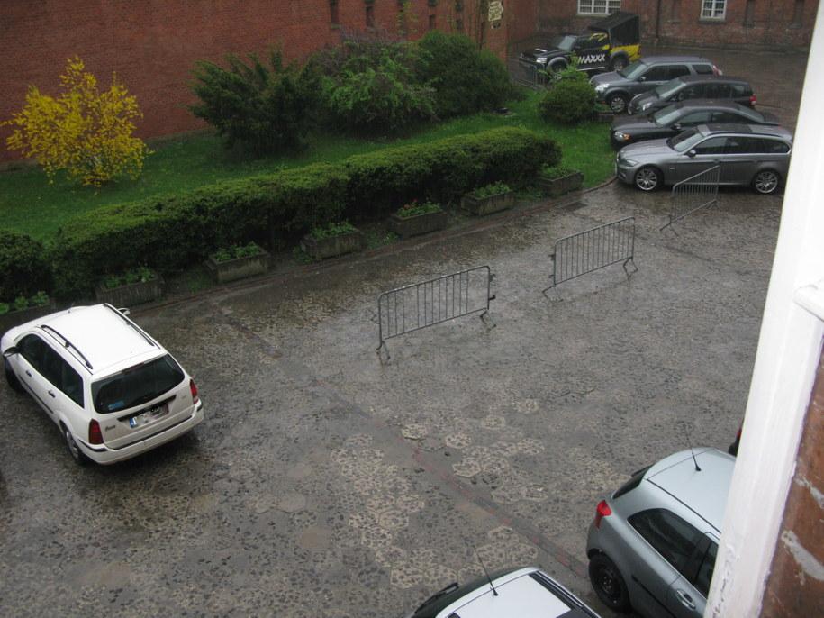 Parking na Kopcu Kościuszki /Joanna Orszulak /RMF FM