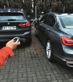 parkowanie bez kierowcy /Motor