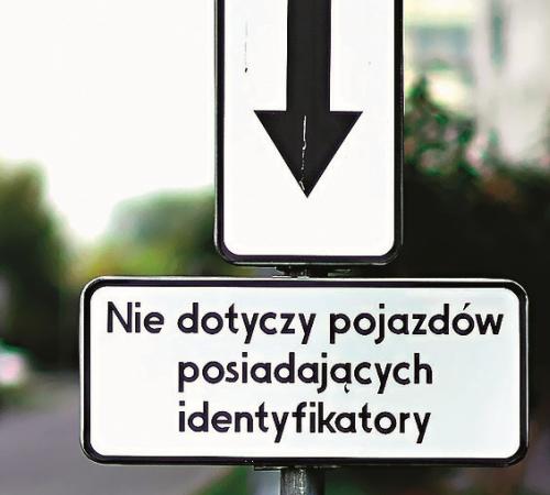 """parkowanie """"identyfikator"""" /Motor"""