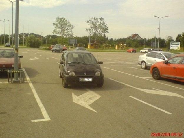 Parkuje, gdzie mi wygodnie!