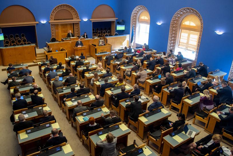 Parlament Estonii, zdjęcie ilustracyjne /Estonian Parliament/Erik Peinar /Agencja FORUM