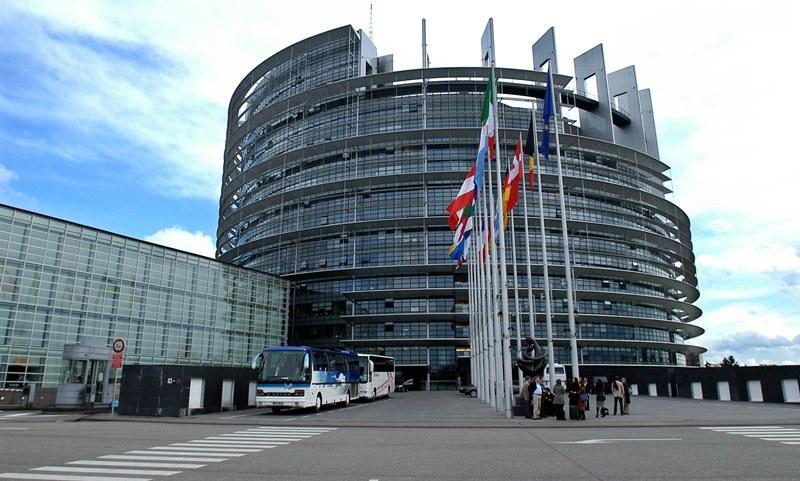 Parlament Europejski w Strasburgu /Jacek Turczyk /PAP