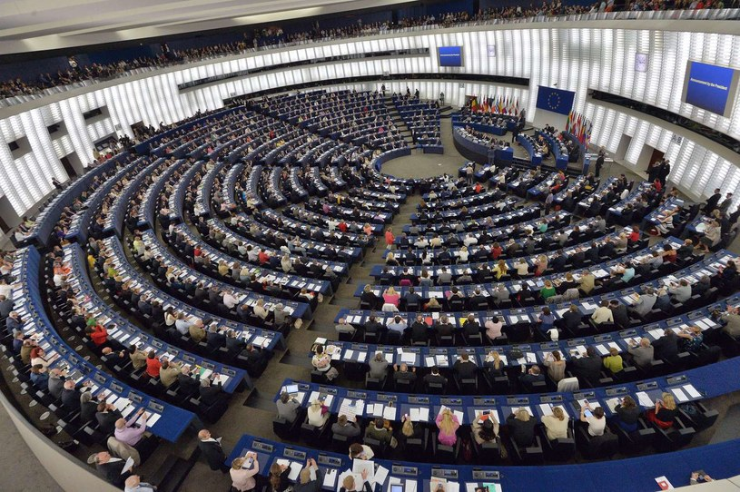 Parlament Europejski w Strasburgu /AFP
