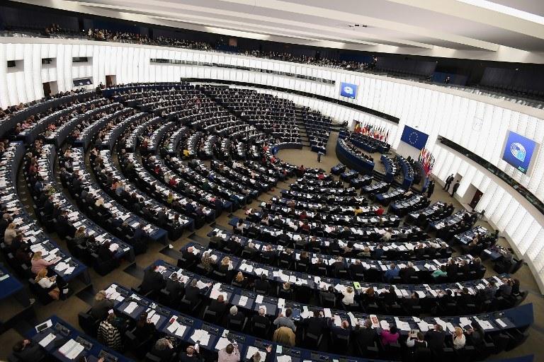 Parlament Europejski, zdj. ilustracyjne /FREDERICK FLORIN /AFP