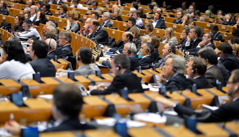 Parlament Europejski /STEPHANIE LECOCQ  /PAP/EPA
