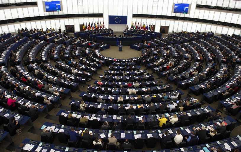 Parlament Europejski /PATRICK HERTZOG /East News