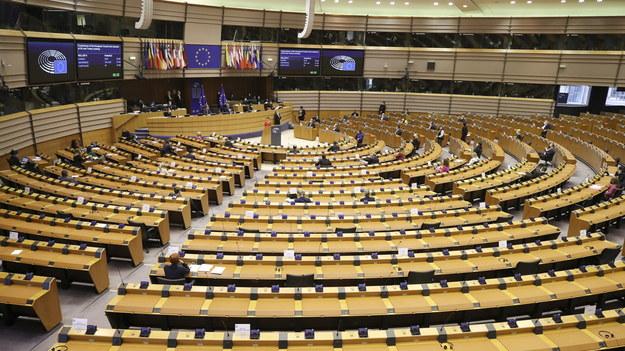 Parlament Europejski /OLIVIER HOSLET /PAP/EPA