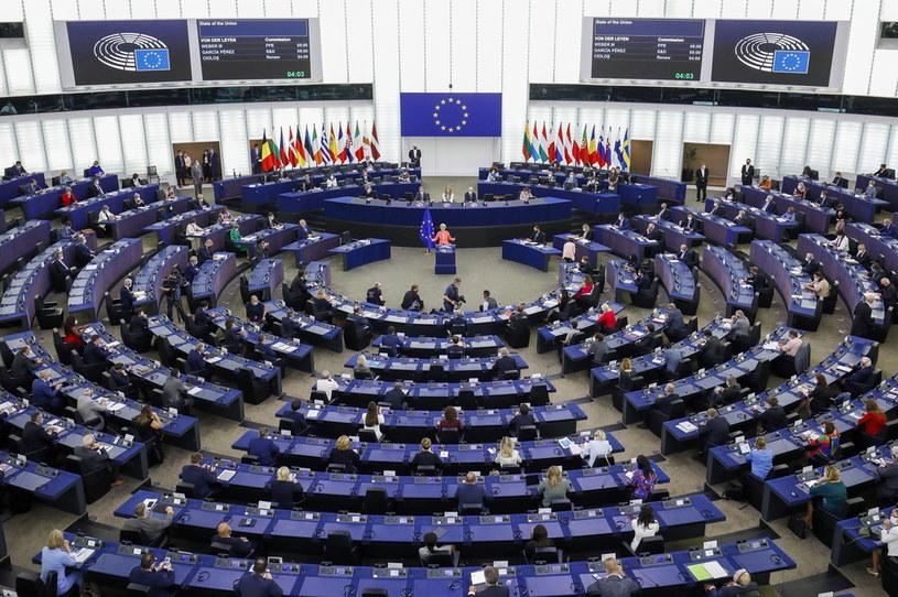 Parlament Europejski /JULIEN WARNAND /PAP/EPA
