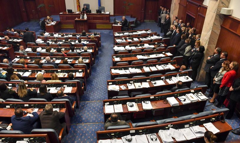 Parlament Macedonii zainicjował procedurę zmiany nazwy kraju /GEORGI LICOVSKI /PAP/EPA