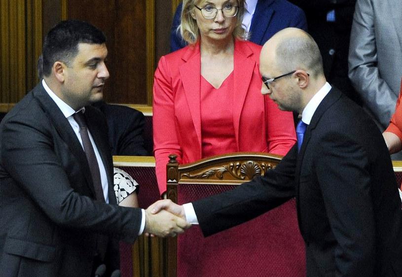 Parlament odrzucił dymisję premiera Arsenija Jaceniuka. /AFP