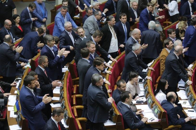 Parlament ukraiński /Nosach Vitaliy /East News
