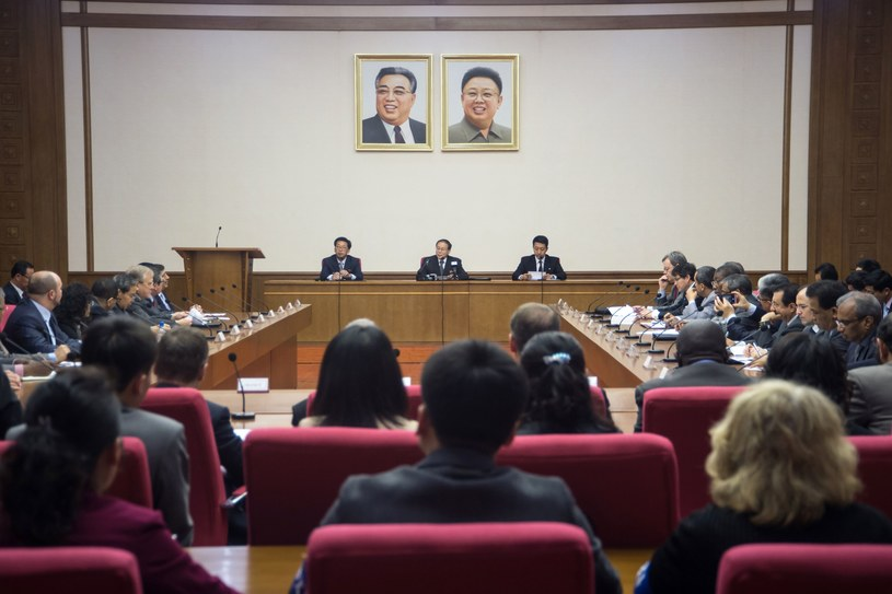 Parlament wysłał do Kongresu USA list w sprawie sankcji /AFP