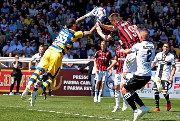 Parma - Milan na remis. Krzysztof Piątek niemal niewidoczny