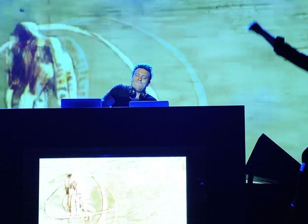 Parov Stelar za konsolą DJ-ską - fot. Stefania D'Alessandro /Getty Images