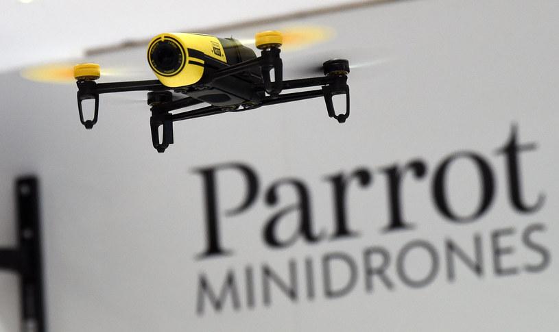 Parrot to jeden z najbardziej rozpoznawalnych producentów dronów /AFP