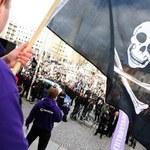 Partia Piratów protestuje
