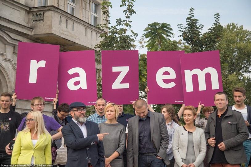 Partia Razem /Krzysztof Kaniewski/REPORTER /East News