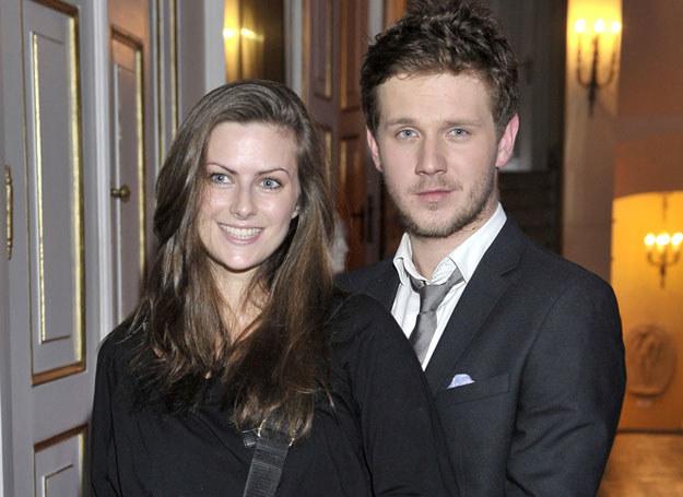 Partnerka aktora, Laura Breszka, jest absolwentką łódzkiej szkoły filmowej. /Kurnikowski /AKPA