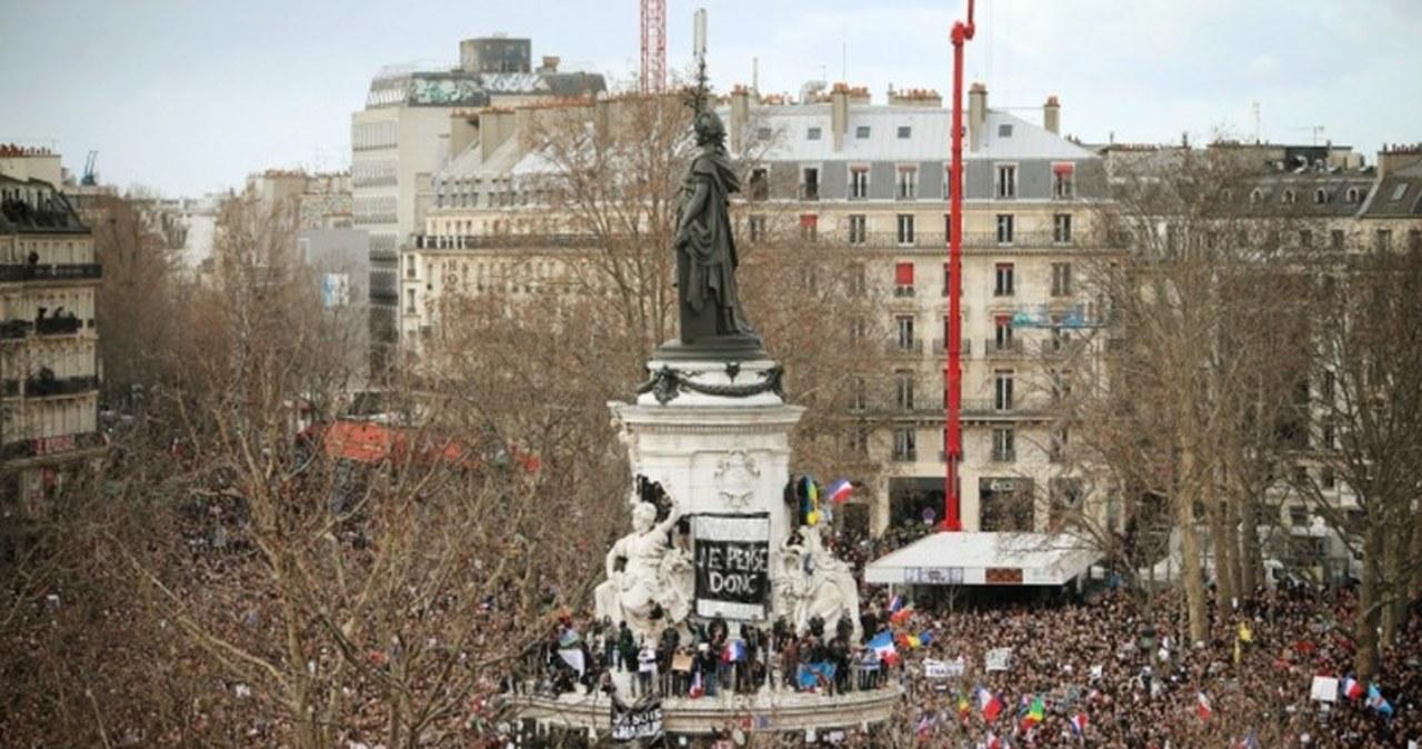 Paryski Marsz solidarności przeciwko terroryzmowi
