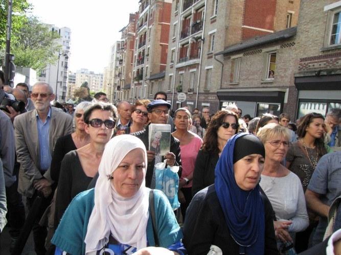 Paryż, pokojowy wiec muzulmanów /Marek Gładysz (RMF FM) /RMF FM