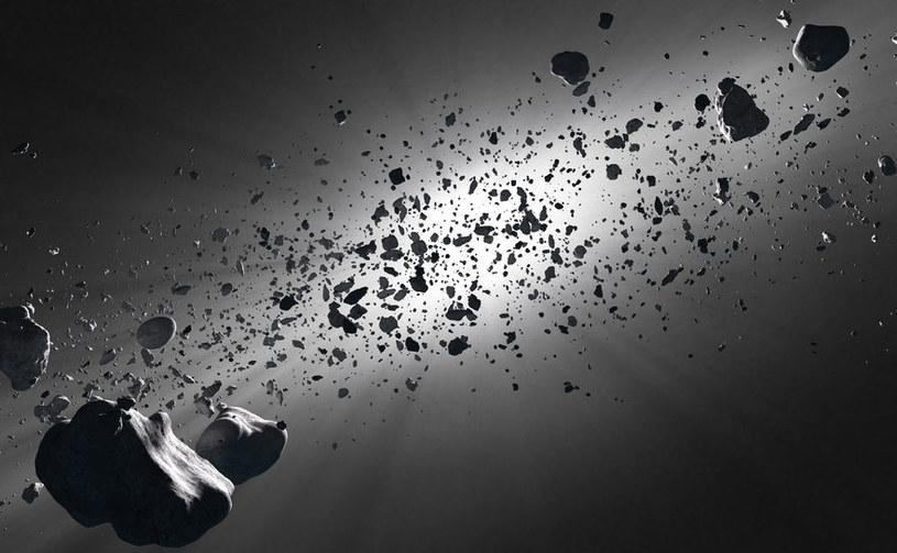 Pas Kuipera może skrywać tysiące miniaturowych planet /123RF/PICSEL