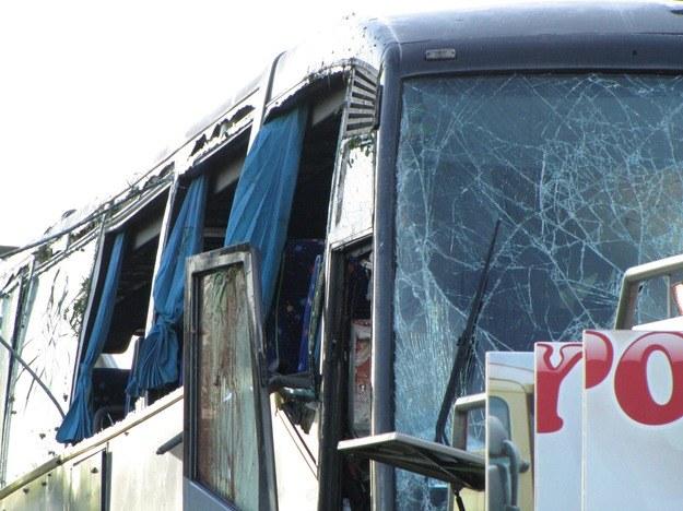 Pasażerowi odnieśli niegroźne obrażenia /RMF