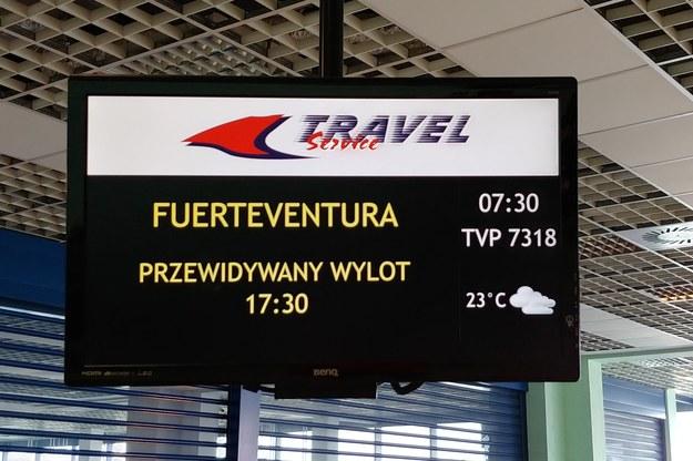 Pasażerowie czekają na wylot na wakacje /Gorąca Linia /Gorąca Linia RMF FM