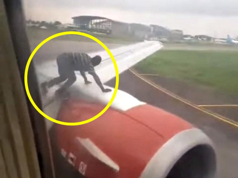 Pasażerowie nie mogli uwierzyć w to, co widzą! /YouTube