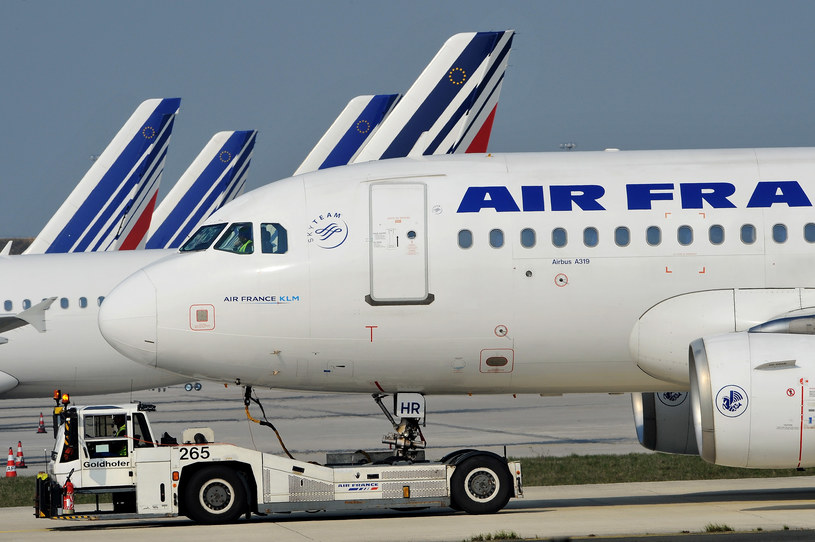 Pasażerowie nie weszli na pokład samolotu linii Air France /Getty Images