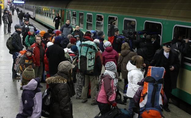 Pasażerowie skarżyli się m.in. na brak informacji / fot. W. Traczyk /Agencja SE/East News