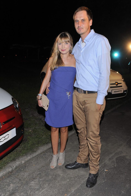 Pascal Brodnicki z żoną /- /MWMedia