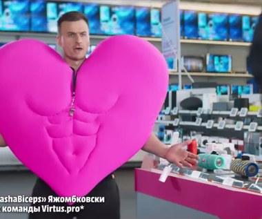 PashaBiceps w rosyjskiej reklamie!