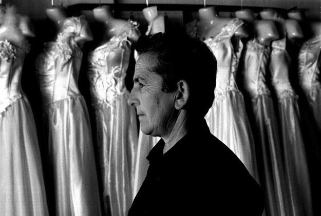 Pashke Ograja w salonie z modą ślubną. Sama nigdy nie miała okazji założyć takiej sukni /Agencja FORUM