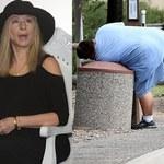 Pasierb Barbry Streisand grzebie w śmietniku!