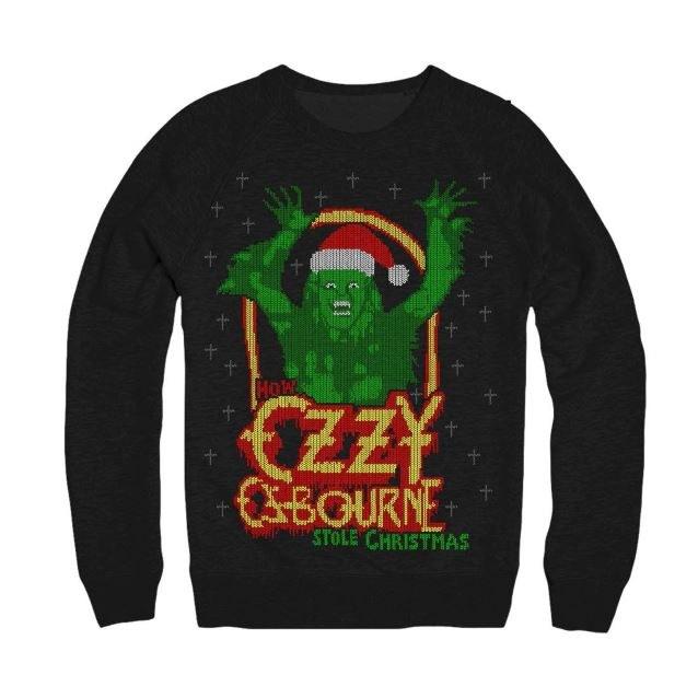 """""""Paskudny świąteczny sweter"""" od Ozzy'ego Osbourne'a /"""