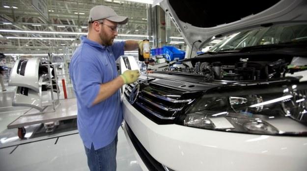 Passat montowany w amerykańskiej fabryce VW w Chattanooga. /Volkswagen