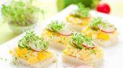 Pasta jajeczna na malutkich kanapkach