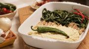 Pasta z bobu z cykorią i sardelami (fave & cicoria con alici)