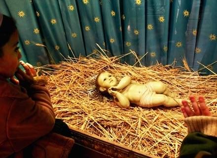 Pasterka otwiera w liturgii obchody wcielenia Chrystusa /Getty Images/Flash Press Media