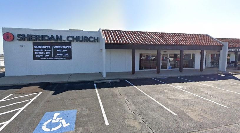 Pastor kościoła Sheridan Church oferuje wiernym zaświadczenie, że wiara nie pozwala im się szczepić przeciw COVID-19 w zamian za datek /Google Maps /