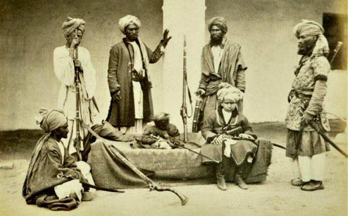 Pasztuni nie znali litości wobec wrogów będących innego wyznania niż Islam /materiały prasowe