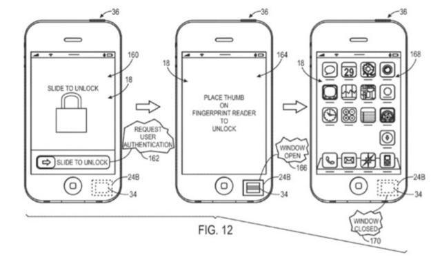 Patent Apple dotyczący zastosowania czytników linii papilarnych /materiały prasowe